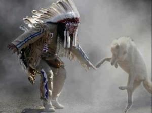 Danse avecun loup