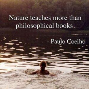 Nature teaches